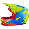 bluegrass Brave Fullface-Helmet green/blue/orange